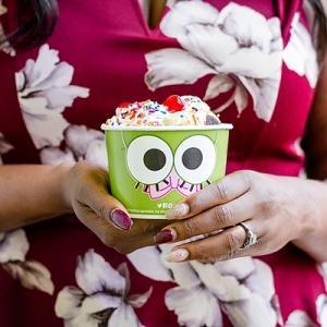 Frozen yogurt date idea