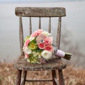 Seaside bridal bouquet