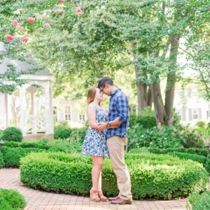Everyday Blue Outdoor Engagement Session