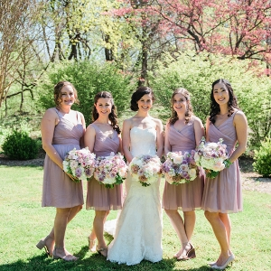 romantic brunch maryland wedding