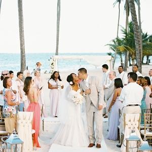 Punta Cana beach ceremony on Aisle Perfect