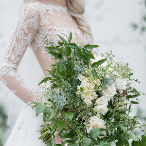 Lush greenery bouquet