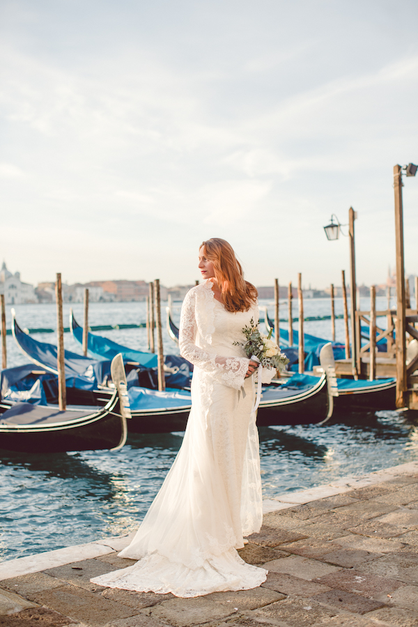 Venice bridal shoot on Aisle Perfect