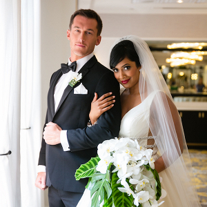 Glam hotel wedding