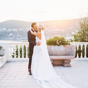 Glam French Riviera wedding