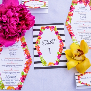 kate spade inspired garden wedding on Aisle Perfect
