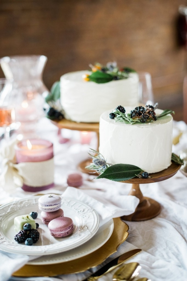Macarons, Cake and Petit Fours for a Marie Antoinette Wedding Inspiration Shoot