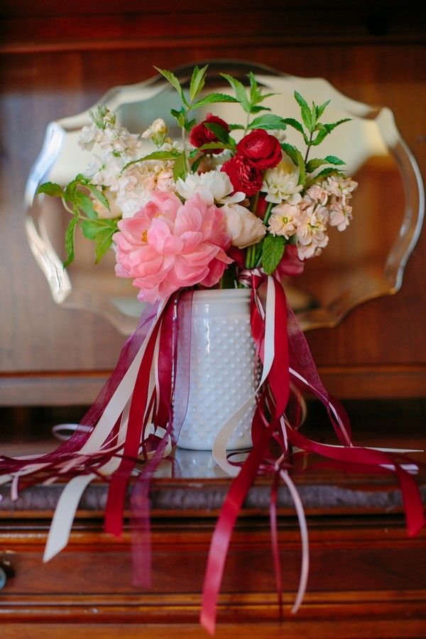 Bridal Bouquet | Cultural Wedding at The Mansion at Turner Hill