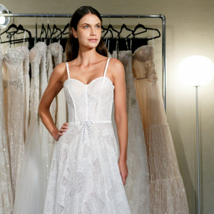 Netta BenShabu wedding dress