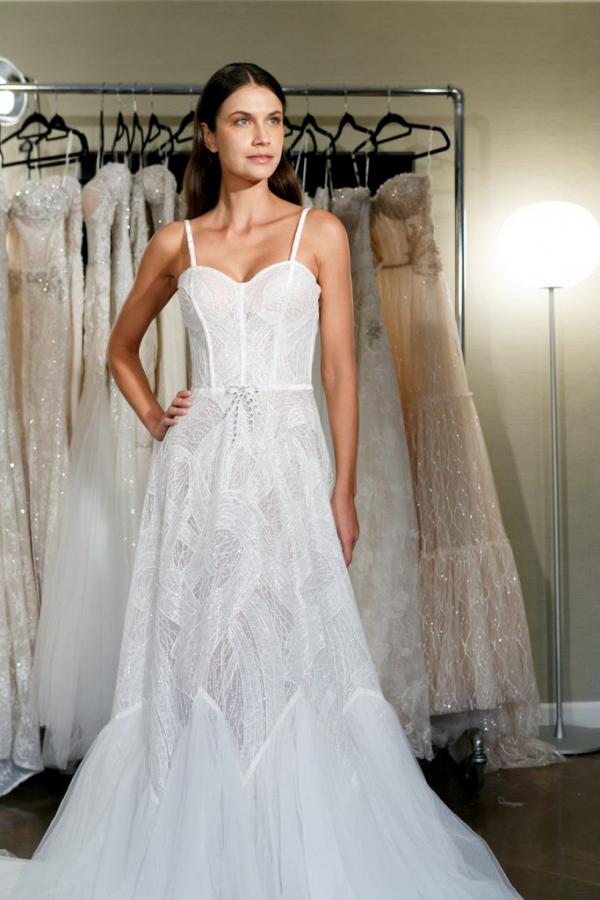 Netta BenShabu wedding dress