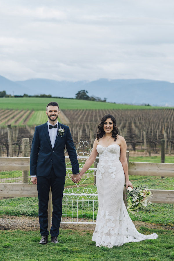 rustic chic Australian wedding on Aisle Perfect