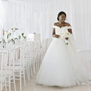 All White Cape Town Wedding at Lourensford Estate