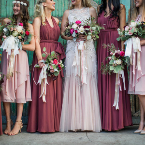We're Sharing 5 Guidelines To Pick the Perfect Bridesmaids' Dresses!