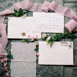 This Stunning Wintery Pastel Stationery Suite Will Make Your Snow Princess Dreams a Reality!