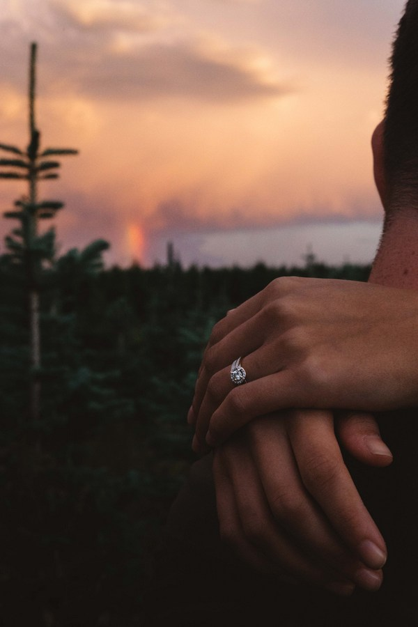 This Couple's Sunset Engagement Shoot is Too Gorgeous for Words!
