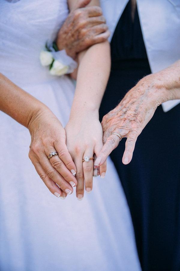 Three generation ring photo