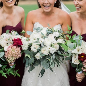 This Gorgeous Berry Wedding is Fall Perfection!