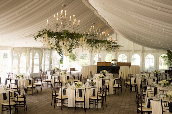 The Open Walled Tent Allowed Guests To Enjoy The Outdoors While Staying Comfortable Inside