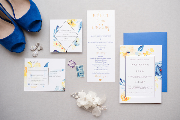 This Colorful Spring Wedding Takes Something Blue to the Next Level!