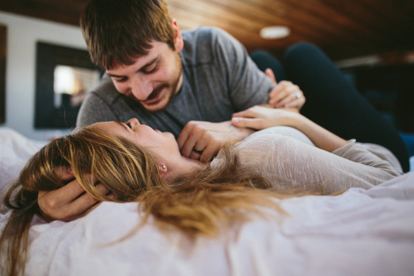 In Home Sessions Can Be Great Post Wedding, Or As An Engagement Shoot!