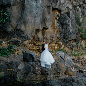 Dramatic cliffside portraits