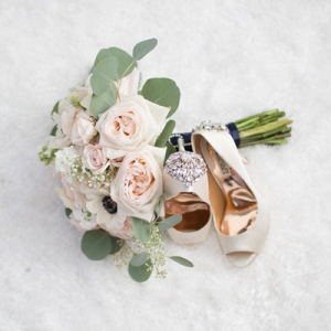 Light blush bouquet