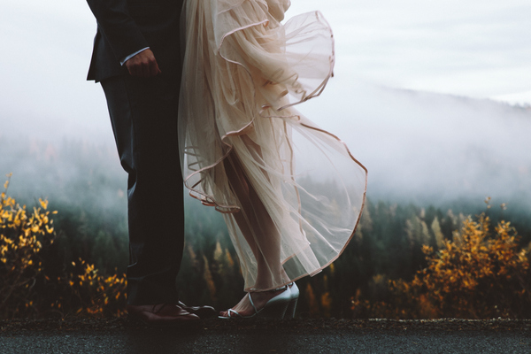 The Misty Forest Setting in This Styled Shoot Will Have You Heading for the Hills-- in a Good Way!