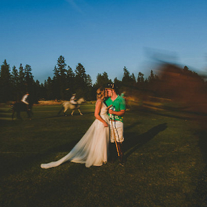 A Polo Match Mid-Wedding? Why Not?!
