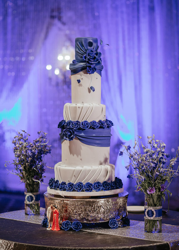 This Wedding Cake is Beyond-- It Has Real Swarovski Crystals!