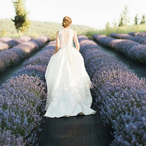 This Lavender Farm Styled Shoot Takes Dreamy To A New Level