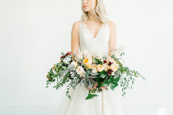 Lush oversized bouquet