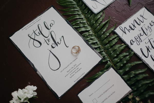 This Simple Invitation Suite is Bold but Basic, in the Best Way