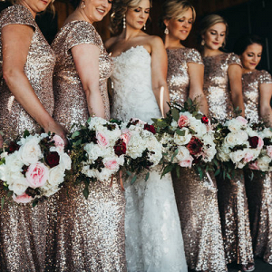 Glam Is An Understatement for This Wedding!