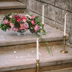 Romantic vintage wedding decor
