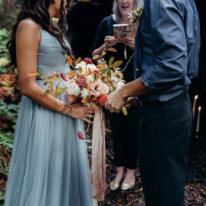 Mountain forest elopement
