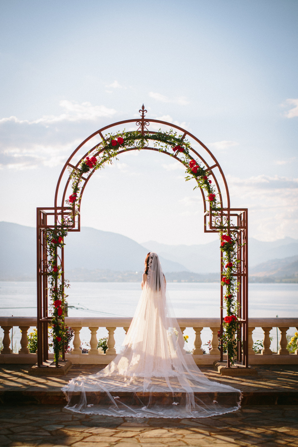A Cathedral Veil Makes Quite The Entrance on Your Wedding Day