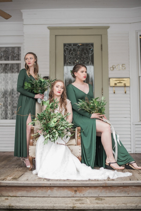 These Girls in Green Will Definitely Be Re-wearing Their Chic Maxi Dresses!