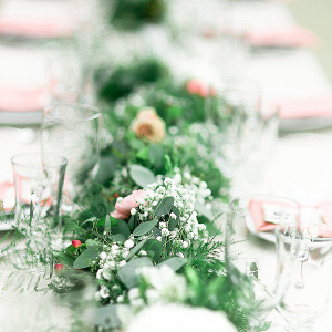 Garland centerpiece