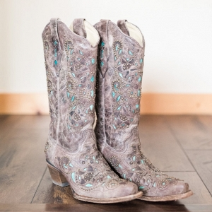 Cowboy Boots Are a Must for Any Country Wedding