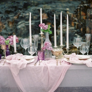 This Lavender Tablescape is Gorgeous and Whimsical