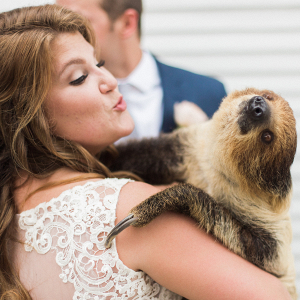 Bride with Sloth