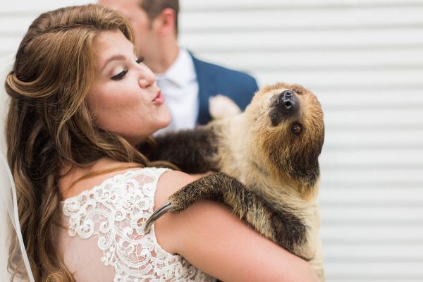 Bride with Sloth