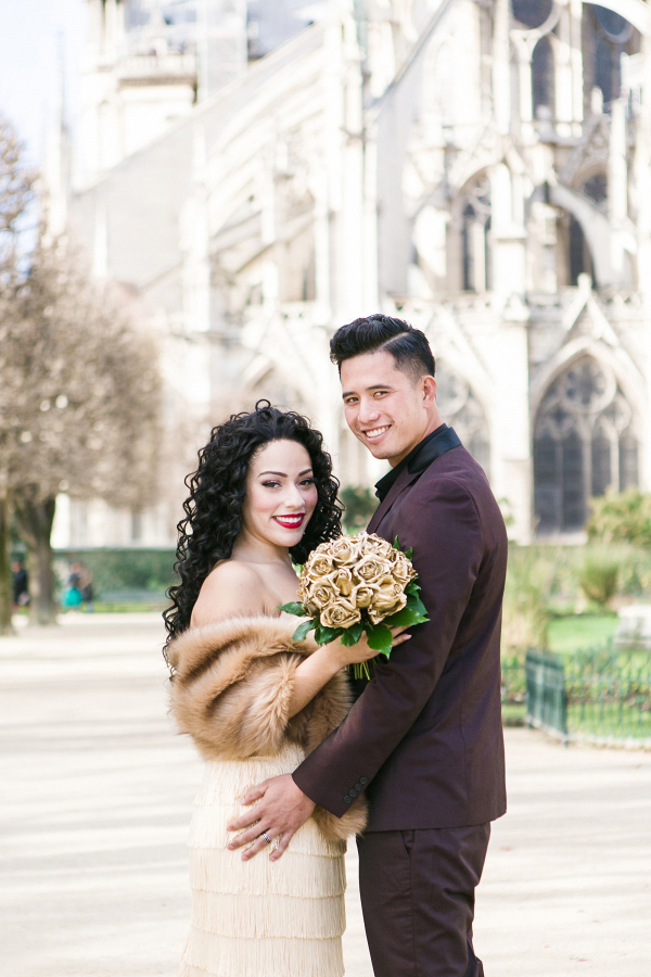 Newlywed Portraits in Paris