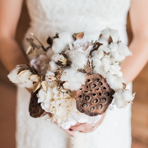 Rustic Handmade Cotton Bouquet