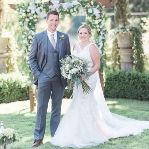 Lakeside Summer Wedding with Greenery