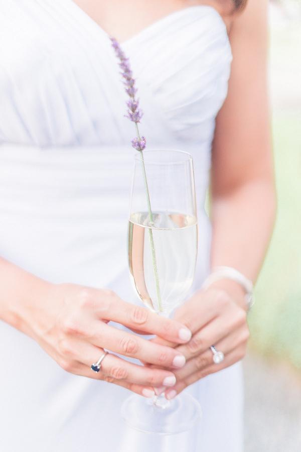 Lavender Prosecco Cocktail