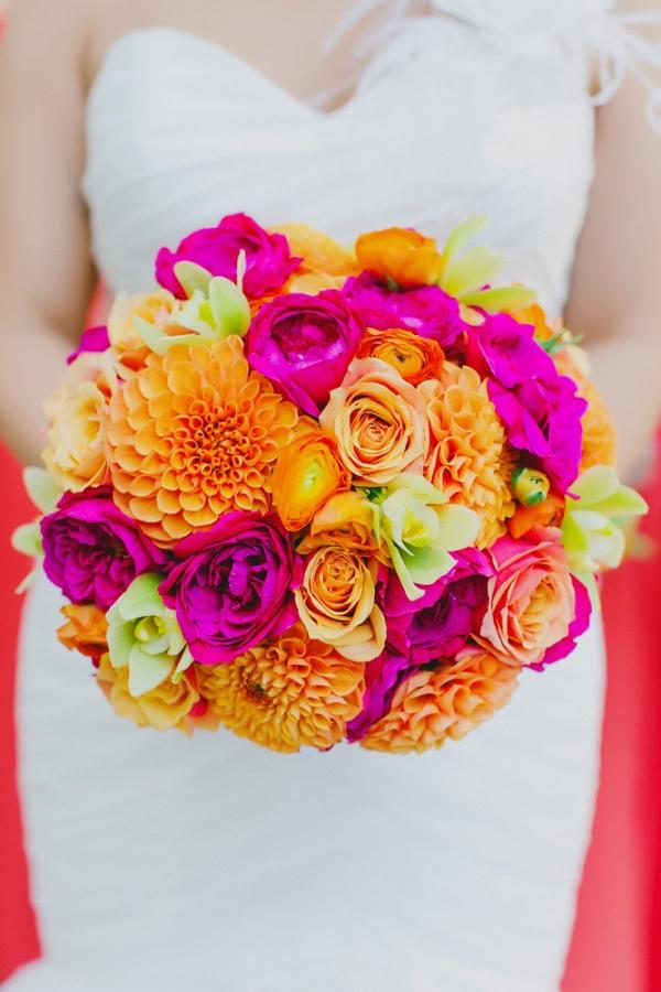 Bright Neon Bouquet