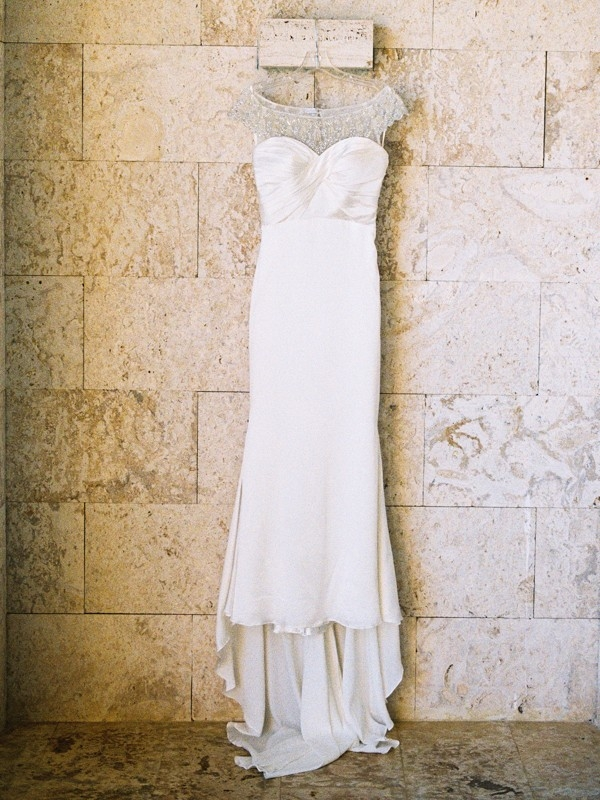 Illusion Neckline Wedding Dress