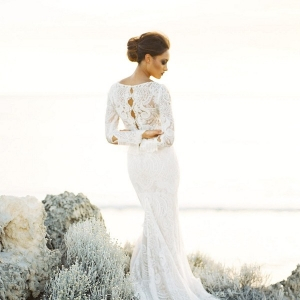 Inbal Dror Lace Wedding Dresss