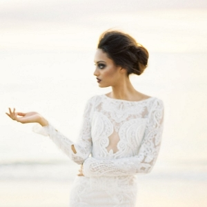 Inbal Dror Lace Wedding Dress
